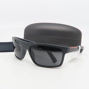 SPR 11U OAS-5S0 Prada Matte Gray Sunglasses